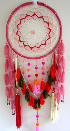Golden Dreamers Large Large Oversized Colourful Dreamcatcher Dream Catcher