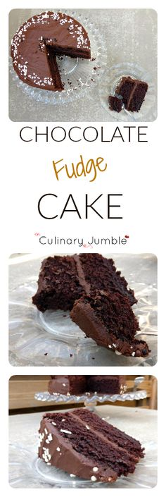 Classic chocolate fudge cake smothered in delicious chocolate fudge frosting