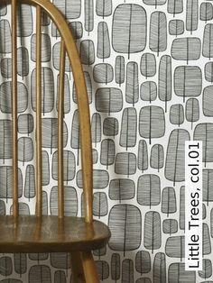 Tapete Broken Concrete col. 08  Steintapete in den Farben Anthrazit ...