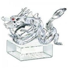 f0c85ea30 Swarovski Zodiac Clear Dragon - Crystal Chinese Zodiac Dragon sace - Swarovski  Crystal Zodiac Dragon in clear crystal.