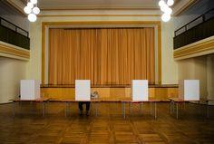 Stimmzettel-Selfies: Innenministerium will Smartphones in der Wahlkabine verbieten: Bei der US-Wahl haben viele Amerikaner Selfies mit…