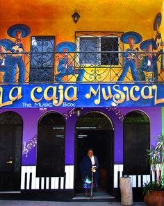 The Music Box, a bar on the plaza in Ajijic, Jalisco, Mexico.