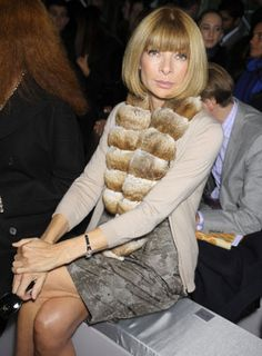 PEOPLE: Anna Wintour.