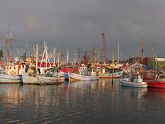 Gilleleje Harbour is on the top of Sealand, Denmark. A real traditional fishing village still alive.