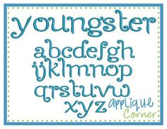Youngster font