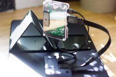 attaching metal plate to raspberry pi