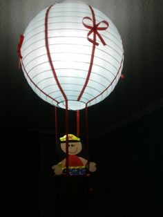 Lámpara globo aerostáticos