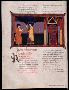 Beato de Liébana. Beato de Liébana , Santo — Manuscrito — 1047 165