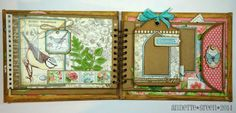 8 x 10 Botanical Tea Album by Annette Green.