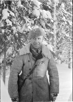 "Aarne Edward Juutilainen (18 October 1904 – 28 October 1976), nicknamed ""The Terror of Morocco"", was a Finnish army captain who served in the French Foreign Legion in Morocco between 1930 and 1935. After returning to Finland, he served in the Finnish army and became a national hero in the Battle of Kollaa during the Winter War with Soviet Union. He was wounded three times during World War II."