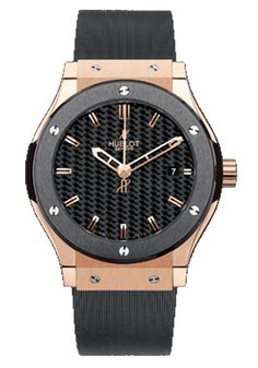 Classic Fusion Rose Gold with Ceramic Bezel at osterjewelers.com