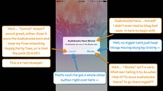 Apple just threw its hat into the music streaming ring. Will its onboarding make or break its ability to oust the likes of Spotify, Rdio, and others? Happy Party, Apple Music, My Books, Audiobooks, Let It Be, Writing, News, Ux Design, Screens