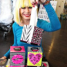 Betsey Johnson-- limited edition Kleenex designs