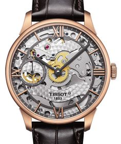 Tissot Chemin Des Tourelles Squelette Watch