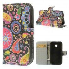 Buchdesign Tasche für Motorola Moto E Nature Design Blumen 1 7,99 €