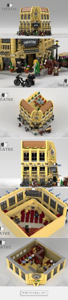 LEGO Ideas -      Modular Theatre - created via https://pinthemall.net