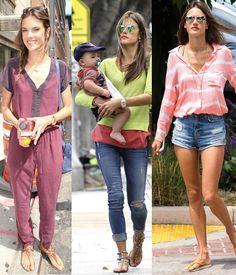 Alessandra Ambrosio #look #fashionblog #pipocacomsalto