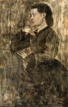 Edgar Degas - Portrait of a woman