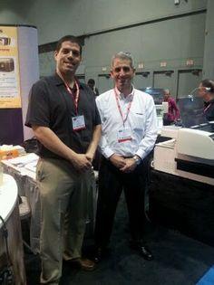 Standing proud, Roy and Zeev Sela of EZ Hi Tech International! #GOA2013    For more coverage go to https://www.facebook.com/EZHiTech