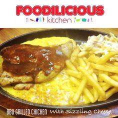 Siapa puasa hari ni? Jom berbuka with our special menu #Bbq Grilled Chicken with Sizzling Cheddar Cheese  Served with fries, coleslaw & blackpepper sauce RM18.90 only   #foodiliciouskitchen #catering  #tapaw #affordable  #halal #westernfood  #shahalam  Call 017-641 9945  Whatsapp 012-716 6300  Monday-Sunday (6.00pm - 11.00pm)  Food Court, Kompleks Anjung 7, Jalan Zirkon 7B, Seksyen 7, 40000 Shah Alam.