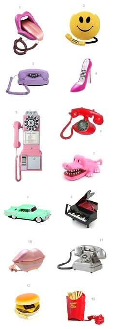 You Rang!? 13 Novelty Phones That You Should Probably Own | studiodiy.com