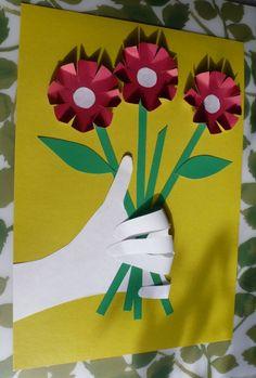 Аппликация «Дарю букет!» - Для воспитателей детских садов - Маам.ру