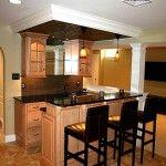 kitchen in basement design