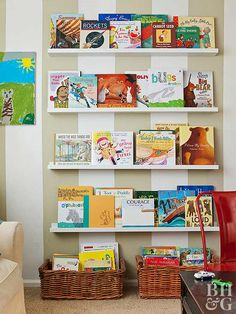 Pretty Ways To Store More In Plain Sight. Kid PlayroomRoom ...