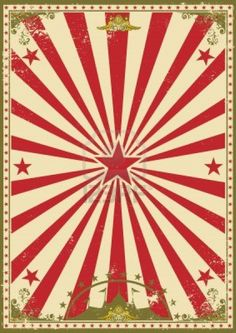 A retro circus background for your show
