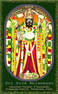 Om Sri Hanumanae Saranam, ஓம் ஸ்ரீ ஹனுமனே சரணம், V.Soorakudi Hanuman Dharshan