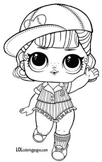 Lol Dolls Coloring Page Elegant Lol Dolls Printable Coloring Pages at Getcolorings Unicorn Coloring Pages, Cute Coloring Pages, Coloring Pages For Girls, Coloring Pages To Print, Coloring For Kids, Printable Coloring Pages, Coloring Sheets, Coloring Books, Free Coloring
