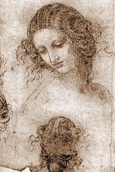 Leonardo Da Vinci, Leda's head