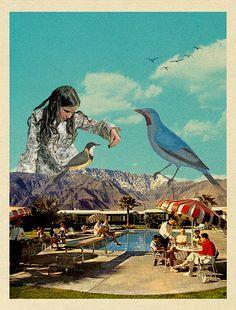 feeding the birds by Sammy Slabbinck, via Flickr