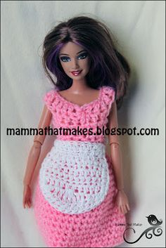Mamma That Makes: Barbie Month .21 - Apron