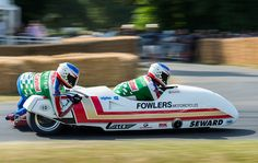 Steve Webster's 1985 LCR-Yamaha TZ500 Sidecar - 2013 Goodwood FoS | Flickr - Photo Sharing!