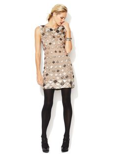 Vista Silk Beaded Tunic Dress by Alice + Olivia on Gilt.com