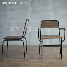 American industrial wind do the old retro chair armrest chair metal outdoor chairs around the chair chair wood chair -tmall.com Lynx