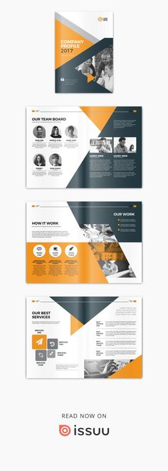 71 Best Company Profile Design Templates images in 2019