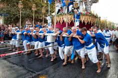 Vara di Messina, 15 agosto - August 15 on the day of the Assumption.
