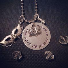 Labyrinth Inspired Handmade Necklace by LittleWonderEmporium.