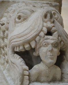 Romanesque Art, Lion Sculpture, Statue, Europe, Sculptures, Sculpture