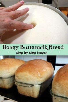 Easy homemade buttermilk bread recipe is sweetened with honey. Hand kneading or bread machine instructions, and step by step images. No-fail beginner recipe Cooking With Kids Easy, Cooking Light Recipes, Cooking For Beginners, Budget Cooking, Beginner Cooking, Cooking Games, Honey Buttermilk Bread, Homemade Buttermilk, Easy Homemade Bread