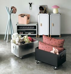 storage collection for kids' room from AM-PM