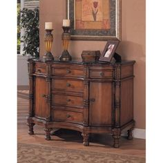 Amazon.com: Coaster Beautiful Black Marble Top Entry Way Accent Bombe Chest: Home & Kitchen