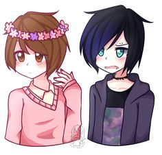 Image result for pastel!dan and punk!phil