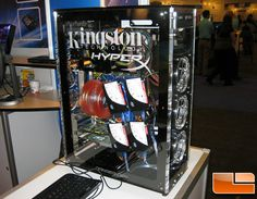 The system contained four Kingston SSDNow! M series drives and eight Kingston SSDNow! E series drives! #Kingstontech