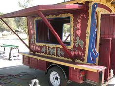 How to build a Gypsy Trailer for a concession stand.