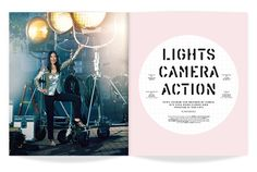 ★ DESIGN ARMY – Washingtonian MOM (Winter 2014): Lights Camera Action (Editorial Design and Art Direction) © Design Army LLC