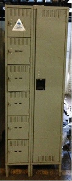 Used lockers for sale by American Surplus Inc. Lockers For Sale, Used Lockers, Door Locker, Half Doors, Personal Storage, Locker Storage