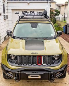 AVID Essentials Radius PreRunner Front Bumper for Jeep Renegade Jeep Wrangler Renegade, Jeep Trailhawk, Lifted Jeep Cherokee, Jeep Gear, Suv 4x4, Adventure Car, Jeep Mods, Jeep Commander, Jeep Patriot